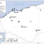Map of Australian Anzcyclops specimens